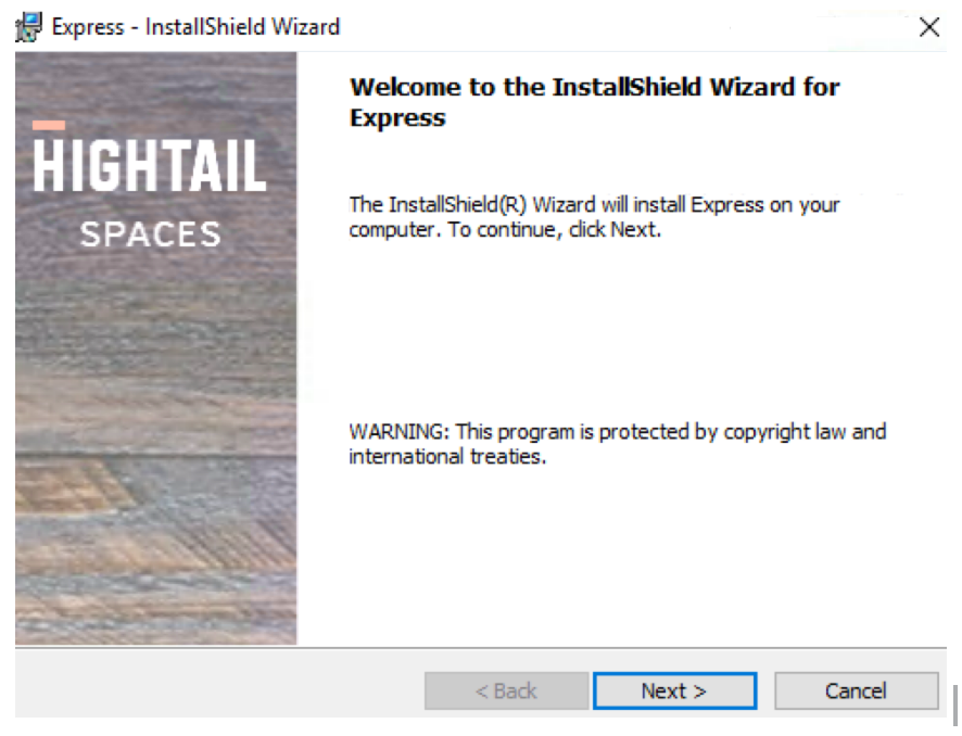 Installing Hightail Express – Hightail