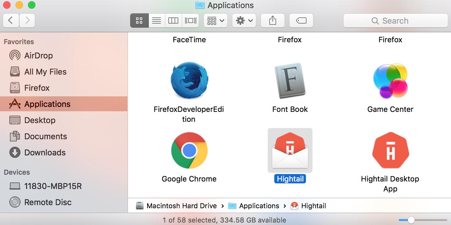 Open Your Application Folder On Mac