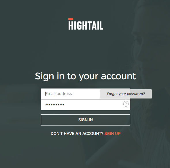 Logging into Spaces iOS Question – Hightail